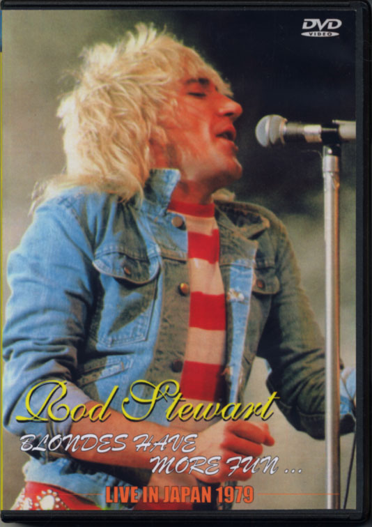 ROD STEWART / LIVE IN JAPAN 1979 (1DVD-R) JOHANNA / JPD-033