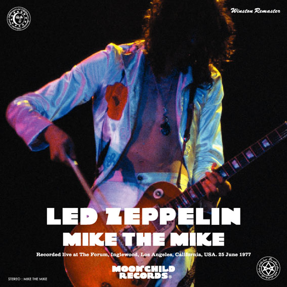 "LED ZEPPELIN / MIKE THE MIKE ""WINSTON REMASTER"" (3CD) MOONCHILD RECORDS / MC-182"