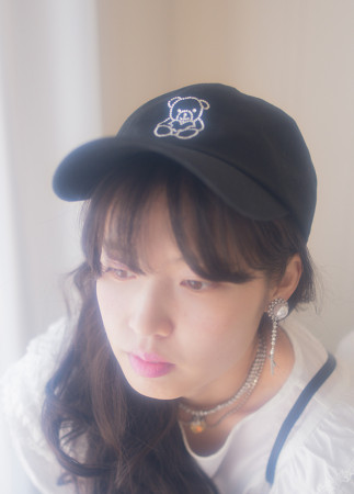 (Black) teddy bear cap