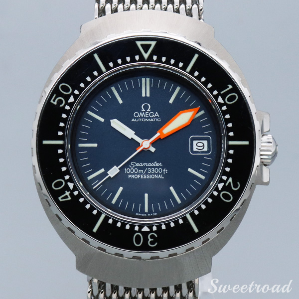 【OMEGA】SEAMASTER/1000M PROFESSIONAL DIVER/ALL NEW MODEL/Ref.166.093/Cal.1002/1970年代/w-20602