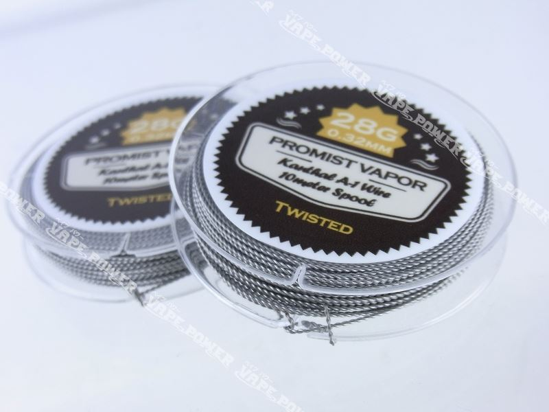 Kanthal A-1 Twist wire 28g 0.32mm【PROMIST VAPOR】ツイストワイヤー プロミスト ベイパー